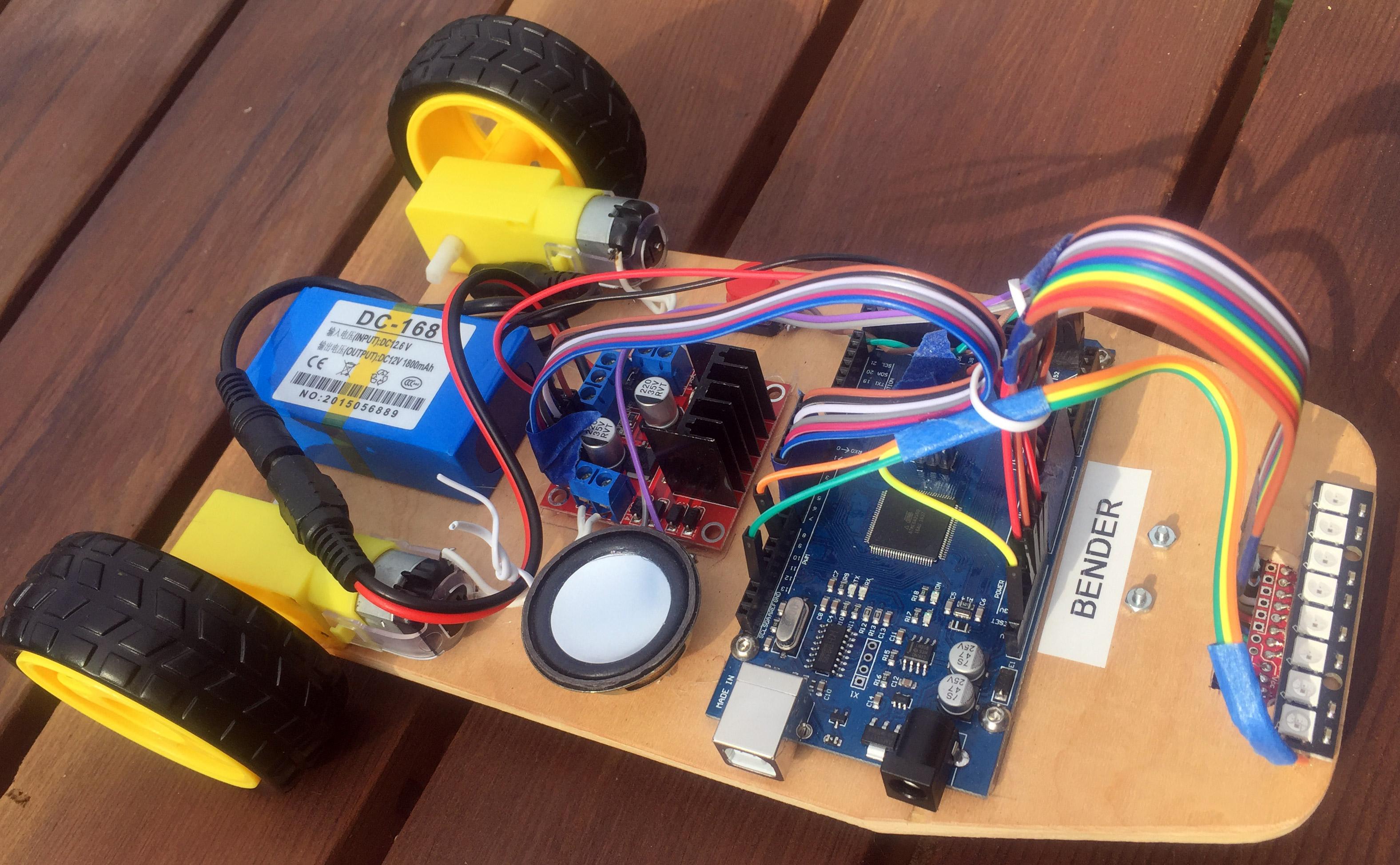 Arduino Line Following Robot Follower Circuit